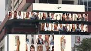 新加坡唐人街People's Park Centre异形电子屏